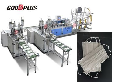 2019 Fully Automatic Non Woven Mask Making Machine With Oversea After Sales Service