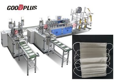 2019 Fully Automatic High Speed High Output Non Woven Mask Blank Making Machine